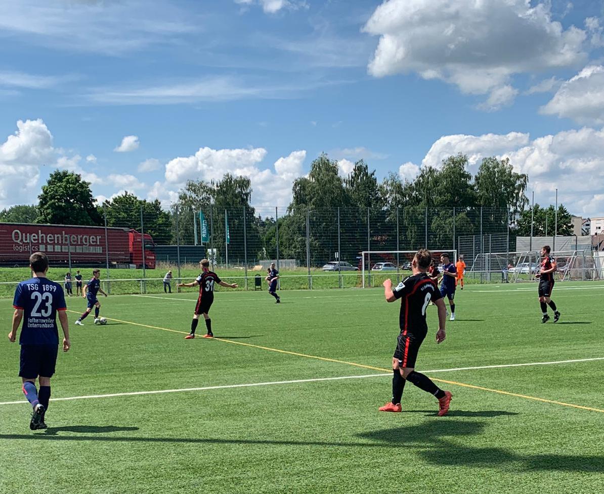 Testspielergebnis TSG Hofherrnweiler : SfD II