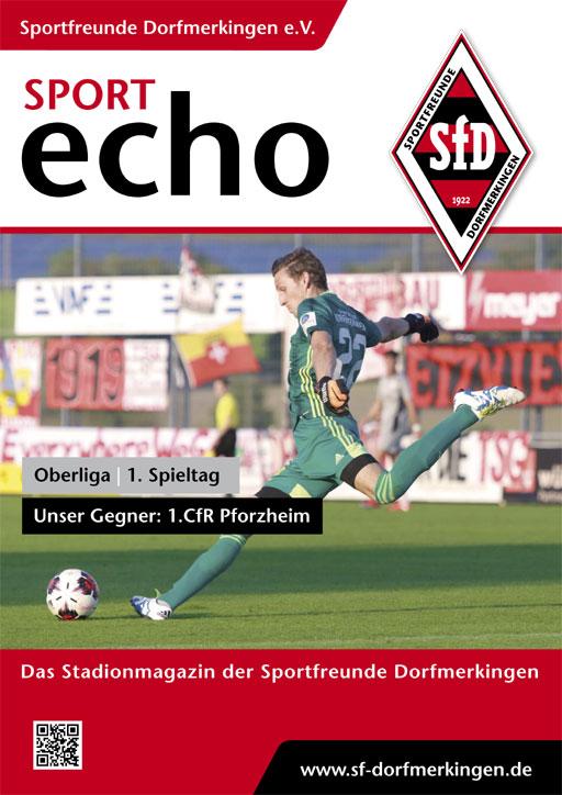 01. Spieltag – 07.08.2021